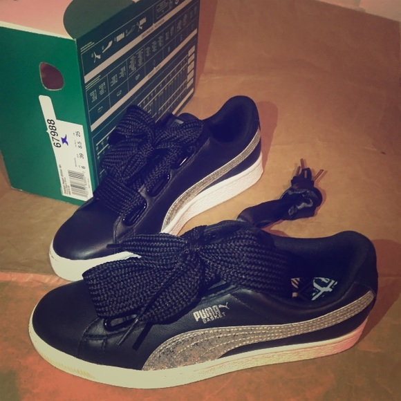 puma basket heart us